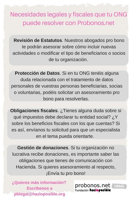 necesidades legales pro bono